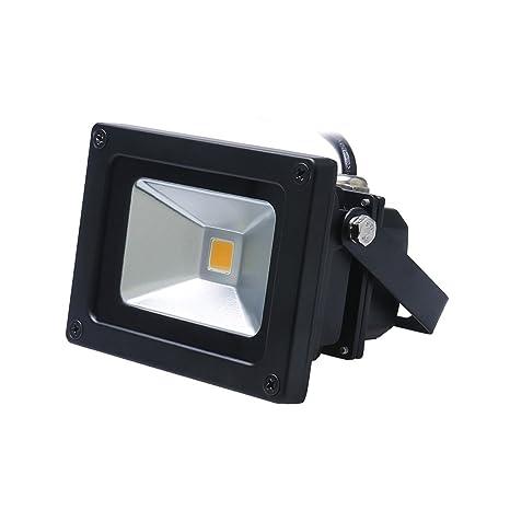 LibrePatioTerrazaBajo Lámpara del Jardín Auralum® Luz LED Aire de Exterior de 10W Impermeable Iluminación IP65 Foco al Consumo Energía Proyector RA53jLc4q