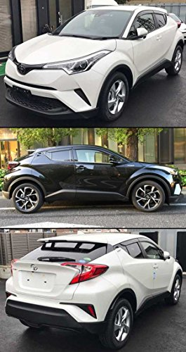cuztom tuning for 2017 2019 toyota c hr chr smoke tinted. Black Bedroom Furniture Sets. Home Design Ideas