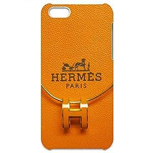 Hermes Logo Back Cover For Iphone 5c 3D Hard Plastic Case