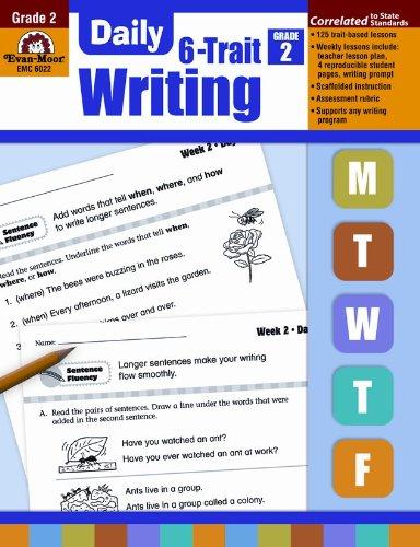 Daily 6-Trait Writing, Grade 2: Evan Moor: 0023472060228: Amazon ...