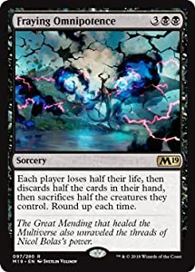 Magic: The Gathering - Fraying Omnipotence - Foil - Core Set 2019