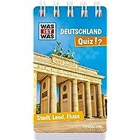 WAS IST WAS Quiz Deutschland: Über 100 Fragen und Antworten! Mit Spielanleitung und Punktewertung (WAS IST WAS Quizblöcke)