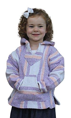 Youth Kids Mexican Baja Hoodie Pullover Sweater Girls - Baja Hoodies Boys