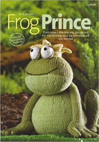 Frog Prince Toy Frog By Alan Dart Knitting Pattern Measurements 8