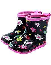Babys Rain Boots Girl's Waterproof Shoes