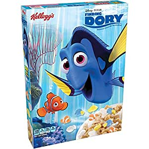 Kellogg's, Finding Dory, Sweetened Cereal with Marshmallows, 8.4oz Box (Pack of 4)