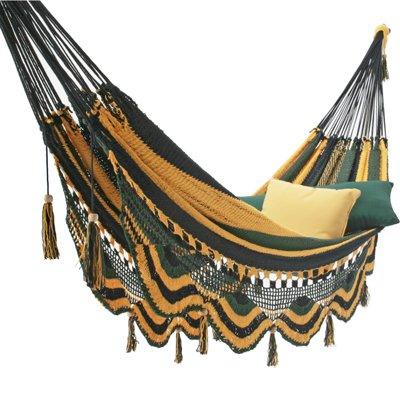 UPC 096355339384, Deluxe Mayan Hammock Tropic Blue-Green-Yellow Stripe
