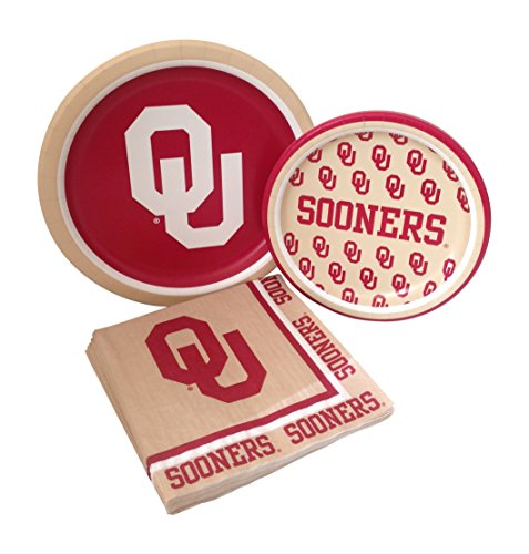 Oklahoma Sooners Party Kits - 1