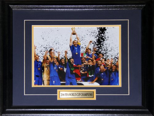 2006 Team Italy FIFA World Cup Champions 8x10 (2006 Italy World Cup)