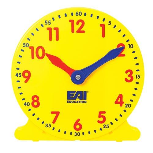EAI Education Student Classroom Clock - Set of 6