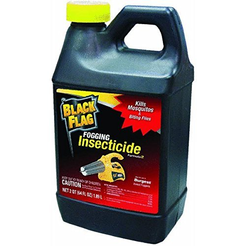- Black Flag Outdoor Fogging Insecticide, 64 oz, Pack of 3