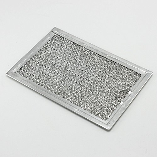 2 PACK - GE WB06X10654 Microwave Oven Grease Range Filter 5 X 8 (8 X 8 Grease Filter)