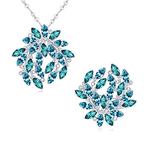 Btime Beautiful Fashion For Wedding Jewelry Set (aquamarine) by Btime
