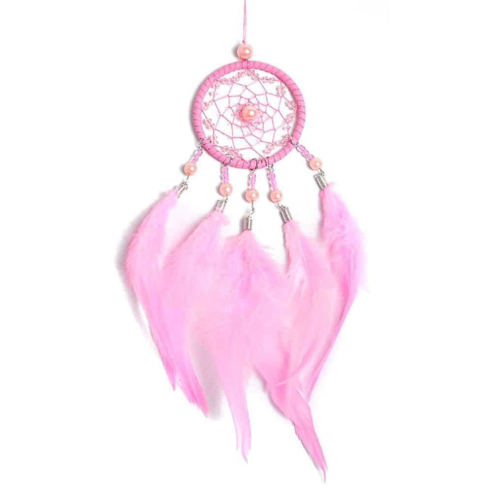 Provide The Best Opal Beads Dream Catcher Car Hanging Ornament Feather Tassel Dream Catcher Wall Decoration
