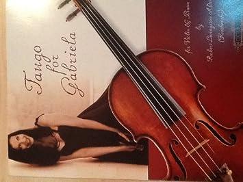 Edition Peters Aldridge Robert Livingstone. - Tango para Gabriela - Violín y Piano de música clásica violín: Amazon.es: Instrumentos musicales