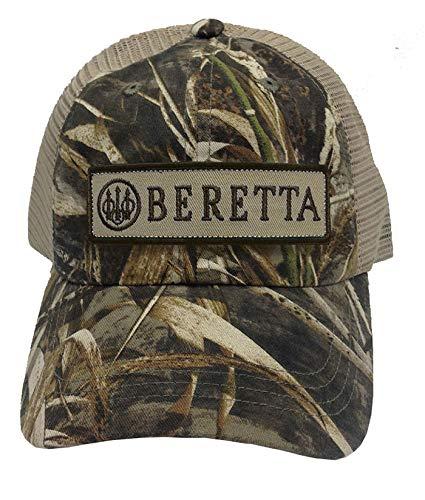 - Beretta Mens Patch Trucker Hat, CAMO Real Tree MAX 5