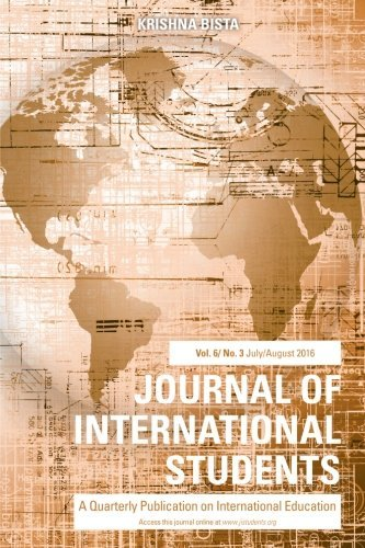 Journal of International Students 2016 Vol 6 Issue 3