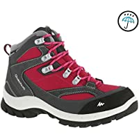 QUECHUA FORCLAZ 100 HIGH Women's Waterproof Walking Boots - Pink