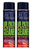Pit Posse PP3236-2 2 16Oz Cans Of Foam Air Filter Cleaner Motorcycle ATV Dirt Bike Made In USA