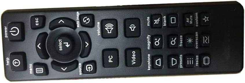 Easy Replacement Remote Control Suitable for INFOCUS M20 M22 IN1503 W260 Projector