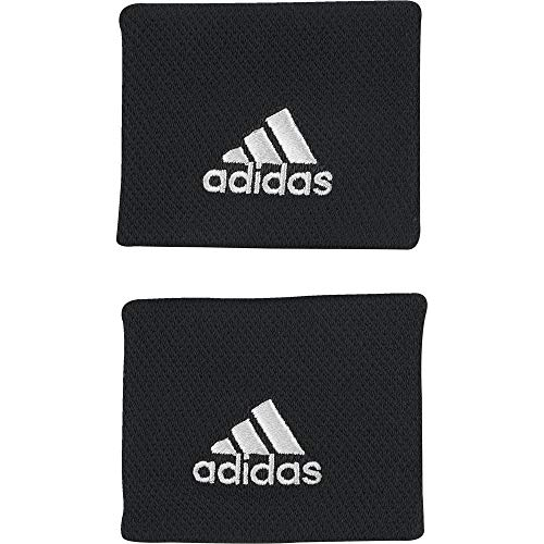 (Adidas Tennis Wristbands - SS19 - One - Black)