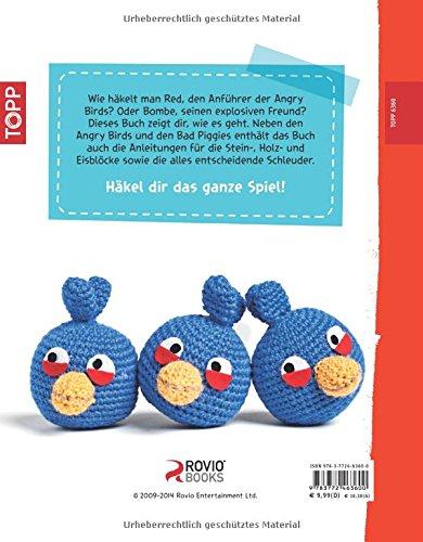 Angry Birds Häkeln 9783772463600 Amazoncom Books