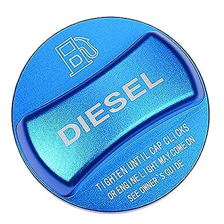 Blue Diesel SODIAL Aluminum Alloy Fuel Tank Cap Cover Trim For Bmw X1 X2 X3 X4 X5 X6 F10 F15 F16 F25 F26 F30 F34 F35 F48 F47 G30 G38