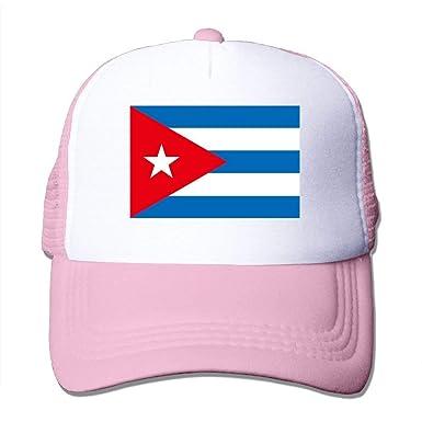 Gorras de béisbol Bandera de Cuba Gorras de Malla Sombrero ...