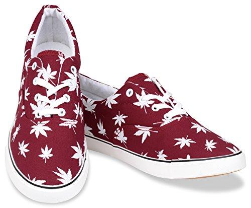 Hipster Mens Marijuana Weed Leaf Skate Shoe  028c15396db8