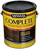 Minwax 672040000 67204 1G Gloss Aged Leather Complete 1-Step Floor Finish