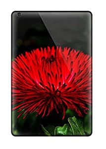 New Super Strong Red Flowers Tpu Case Cover For Ipad Mini 2