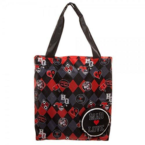 DC Comics Tote Bag Harley Quinn Bioworld Borse
