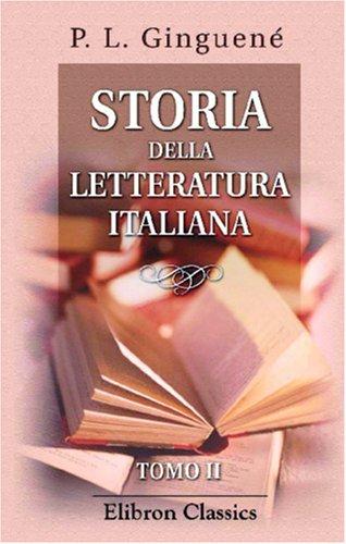 Download Storia della letteratura italiana: Tomo 2 (Italian Edition) pdf epub