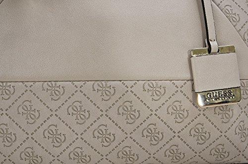 x Damen x Hellgrau x B T x 13 cm GUESS Henkeltaschen H Tote Bags 36 Handtaschen 24 OwgHqT