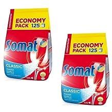 Somat Classic Dishwasher Detergent Powder - 250 Loads (2 x 2.5kg)