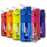 BlenderBottle 28-Ounce Sport Mixer Colors Vary (Black Bottles / Color Tops)