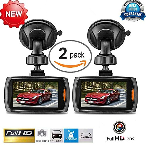 1080P HD Free WiFi Car DVR G-Sensor Camera Video Dash Cam Recorder - 2