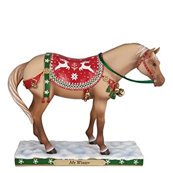 Enesco Trail of Painted Ponies Mr. Winter Figurine, 6-Inch