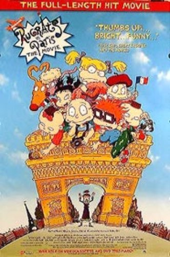 Rugrats In Paris Single-Sided Video 27X40 Movie Poster Silverscreen