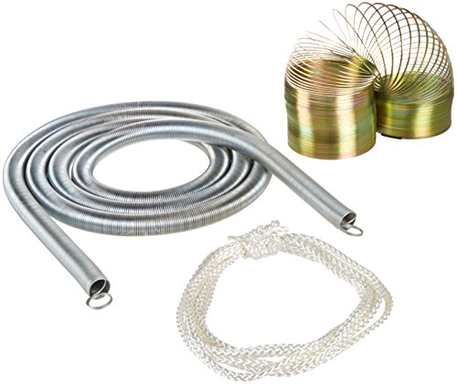 (United Scientific WDSET1 Wave Demonstrator Set with Two Helical Springs and Cotton String)