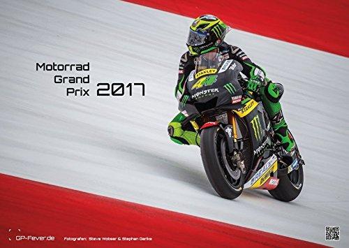 Motorrad Grand Prix 2017 - Kalender - DIN A3