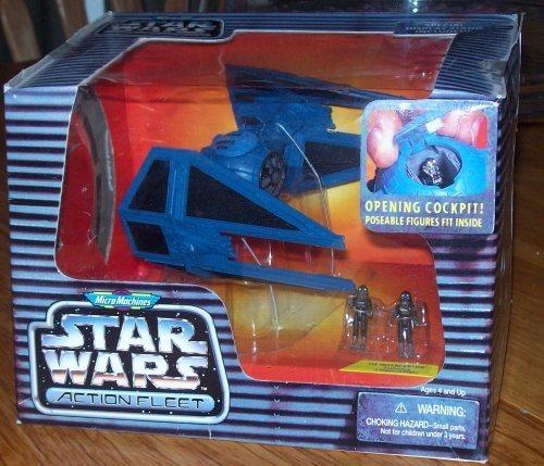 (Micro Machines Star Wars Action Fleet TIE INTERCEPTOR)