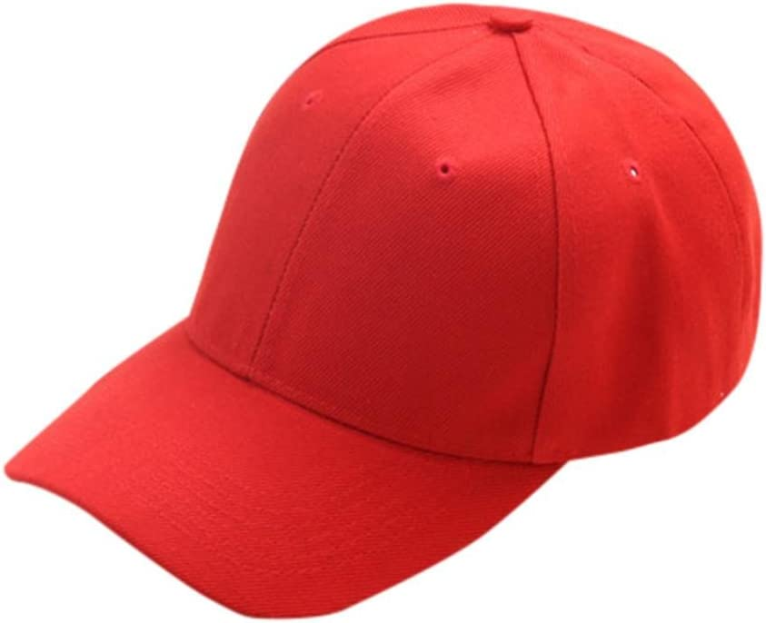 Pink Clearance Sale Iuhan Summer Hat Cap Children Teenagers Hat Show Solid Kids Hat Boys Girls Hats Caps Baseball Hats for Little Boys Gilrs