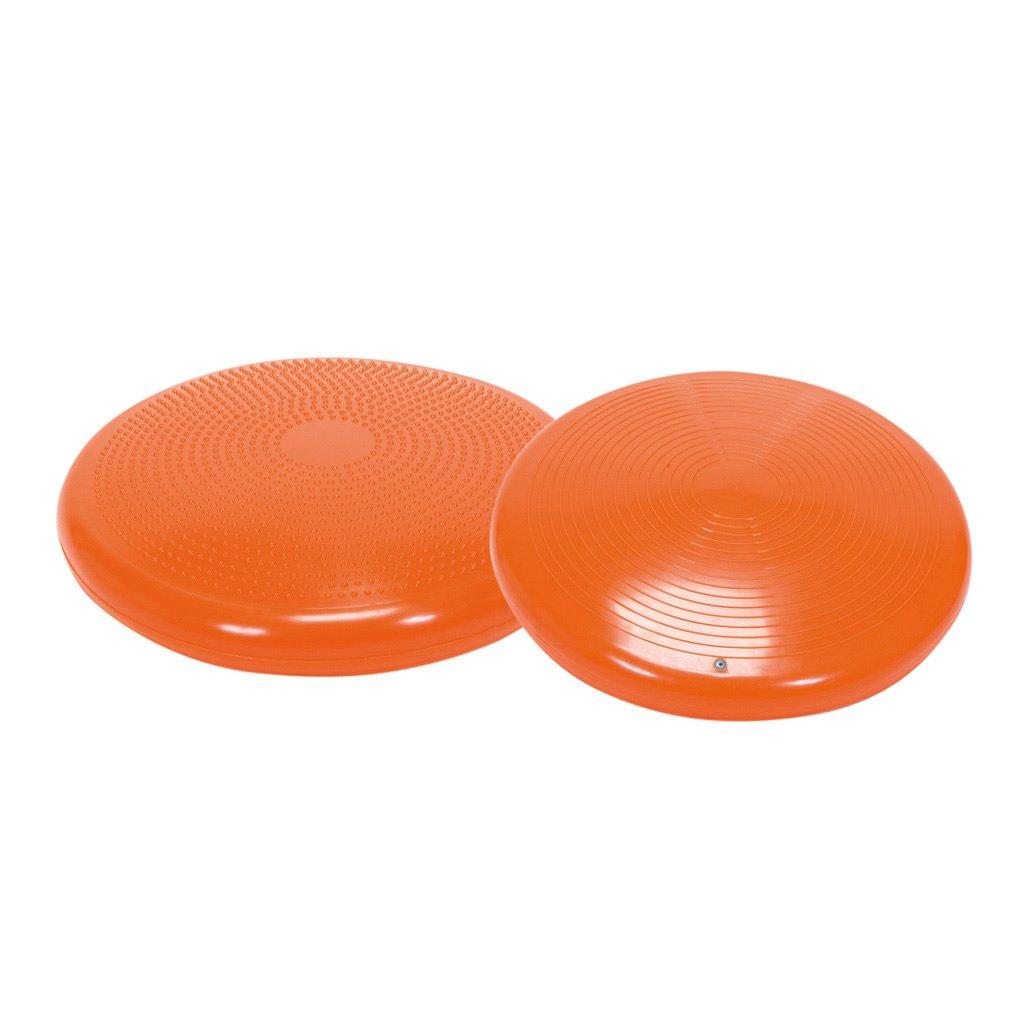 Disco Sport / Orangenes Fitnesskissen / Durchmesser: 55 cm / inkl. Übungsanleitungen