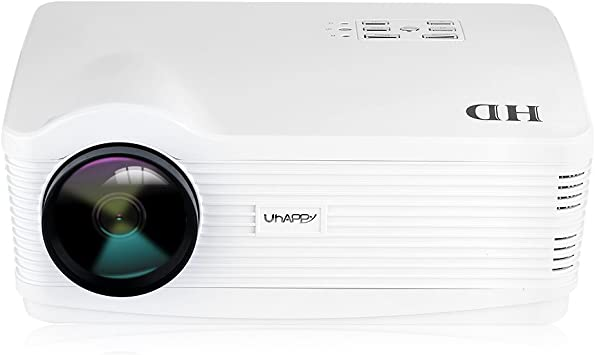 Uhappy H2 - HD proyector inalámbrico Home Cinema (Android 4.44 ...