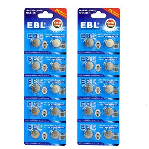 EBL-Button-Cell-Battery-LR44-AG13-G13A-A76-L1154-Alkaline-Battery-20pcs