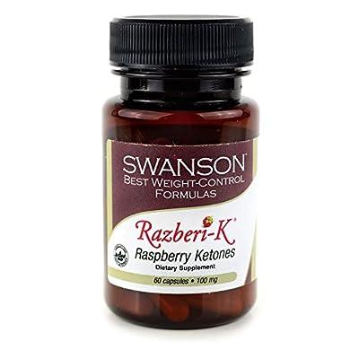 Swanson Razberi-K Raspberry Ketones 100 mg 60 Caps
