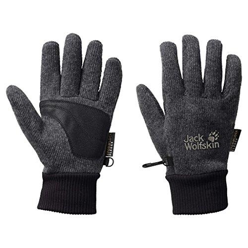 Jack Wolfskin Storm Lock Knit Gloves, Small, Phantom 2010 Mens Snowboard Gloves