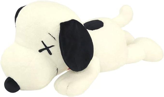 KAWS x PEANUTS Plush Doll Uniqlo Original Black Snoopy Figure S Small Size Japan