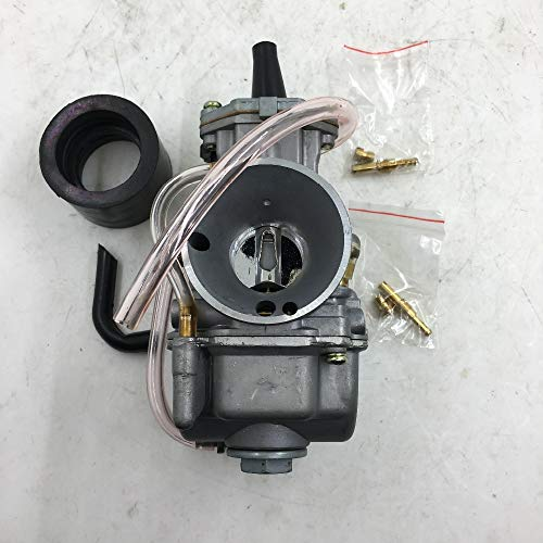 Valves & Parts SherryBerg carburettor 24mm 2/4-stroke Racing Flat Side OEM  Part for OKO carb CARBY Replace mikuni fit for Honda Yamaha